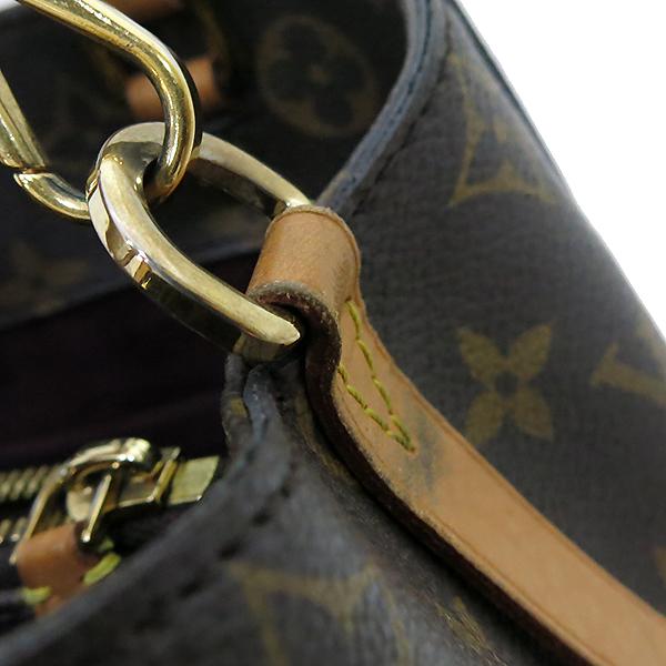 Louis Vuitton(루이비통) M41055 모노그램 캔버스 몽테뉴 (MONTAIGNE) BB 토트백 + 숄더스트랩 2WAY [부산센텀본점] 이미지6 - 고이비토 중고명품