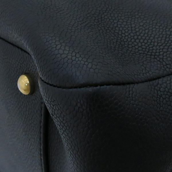 Chanel(샤넬) A93758Y6133994305 금장 COCO로고 그레인드 카프스킨 토트백 + 숄더 스트랩  2WAY [부산센텀본점] 이미지7 - 고이비토 중고명품