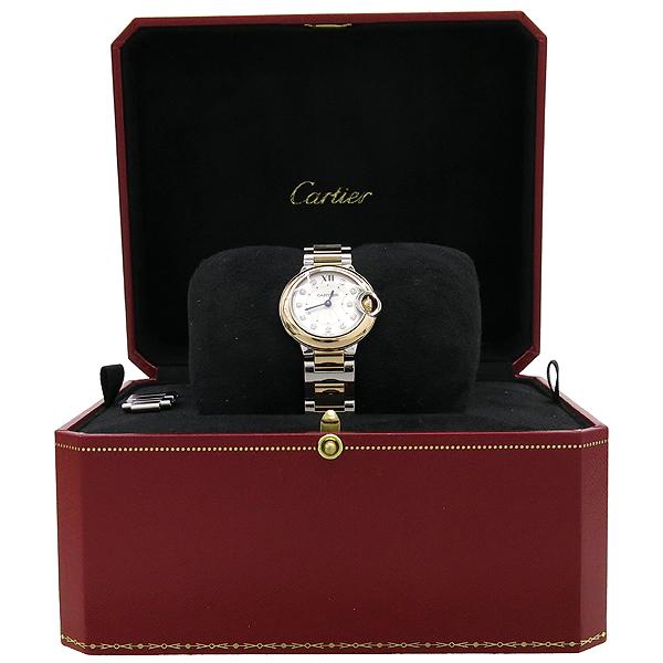 Cartier(까르띠에) W3BB0005 BALLON BLEU (발롱블루) 18K 핑크 골드 콤비 28MM 여성용 시계 [강남본점]
