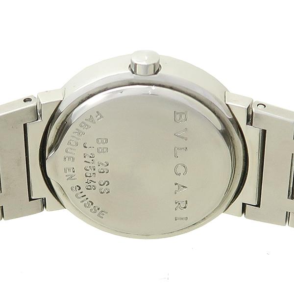 Bvlgari(불가리) BB26SS Bvlgari Bvlgari(불가리 불가리) 스틸 여성용 시계 [잠실점] 이미지4 - 고이비토 중고명품