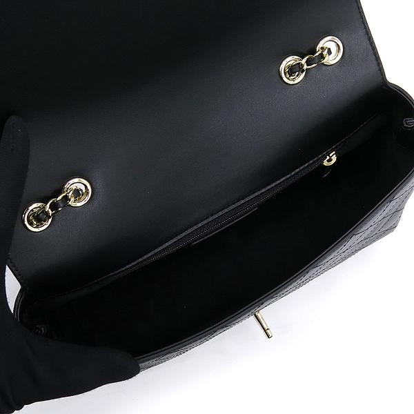 Chanel(샤넬) AS0534B00404 블랙 카프스킨 coco로고 락장식 플랩 골드체인 숄더백 [잠실점] 이미지5 - 고이비토 중고명품