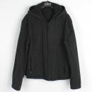 Armani(아르마니) 블랙 컬러 니트 + 나일론 혼방 양면 여성용 점퍼 [강남본점]