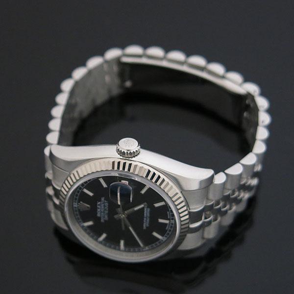 Rolex(로렉스) 116234 DATEJUST(데이저스트) 블랙 다이얼 바 인덱스 스틸 남성용 시계 [대구동성로점] 이미지3 - 고이비토 중고명품