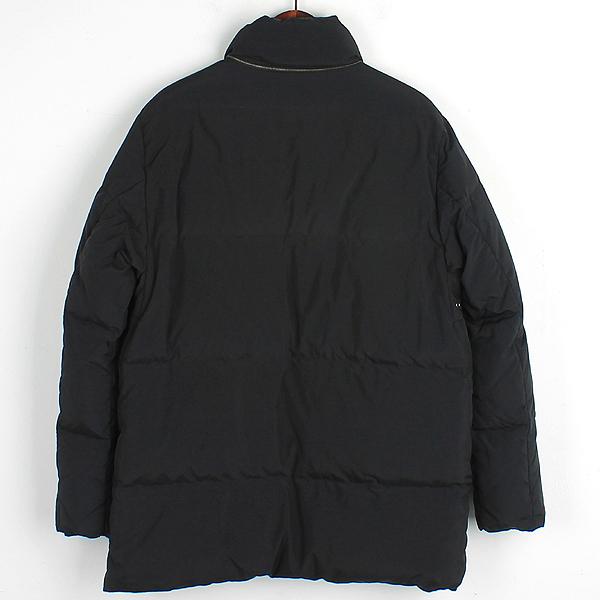THEORY(띠어리) 블랙 컬러 다운 남성용 패딩 점퍼 [강남본점]