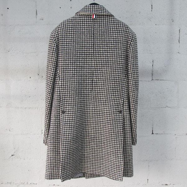 THOM BROWNE(톰브라운) MOC566AW7361 하운드 투스 체크 남성용 코트 [동대문점]