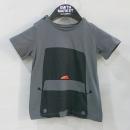 Burberry(버버리) 챠콜 컬러 100% 면 아동용 티셔츠 [부산센텀본점]