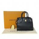 Louis Vuitton(루이비통) M53028 시티 스티머 PM 블랙 레더 토트백 + 크로스스트랩 2way [대전본점]