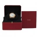 Cartier(까르띠에) W7100009 Calibre de(칼리브 드) 18K 핑크 골드 베젤 42MM 오토매틱 가죽밴드 남성용 시계 [대구동성로점]