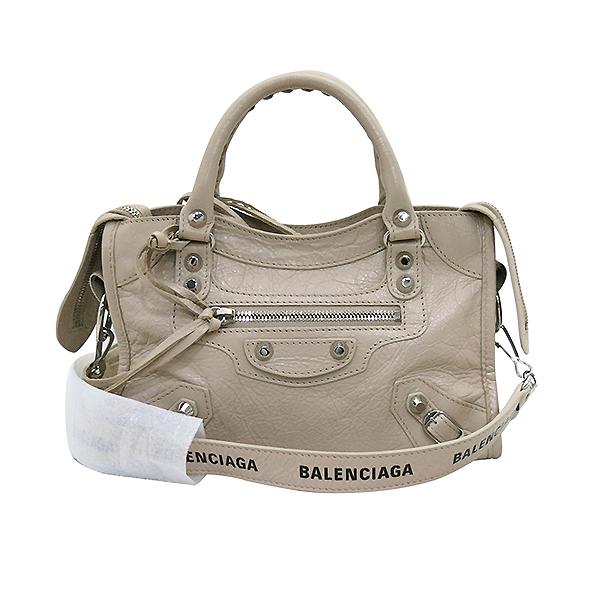 Balenciaga(발렌시아가) 300295 19 S/S 은장 베이지 컬러 미니 시티  2WAY [부산센텀본점] 이미지2 - 고이비토 중고명품