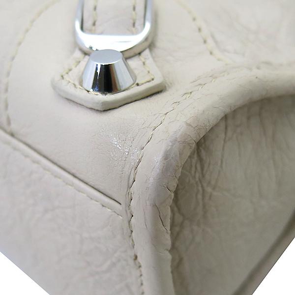 Balenciaga(발렌시아가) 300295 19 S/S 은장 베이지 컬러 미니 시티  2WAY [부산센텀본점] 이미지5 - 고이비토 중고명품