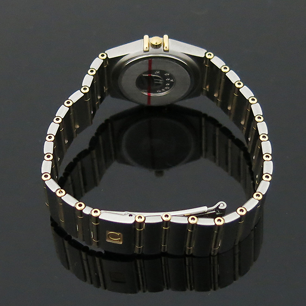 Omega(오메가) 1272 30 18K 콤비 컨스틸레이션 풀바 여성용 시계 [부산센텀본점] 이미지4 - 고이비토 중고명품