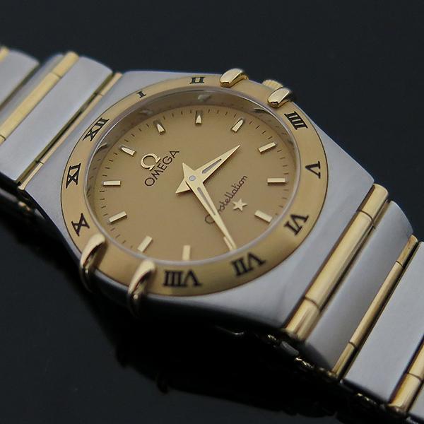 Omega(오메가) 1272 30 18K 콤비 컨스틸레이션 풀바 여성용 시계 [부산센텀본점] 이미지5 - 고이비토 중고명품