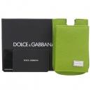 D&G(돌체&가바나) 은장 로고 장식 핸드폰 케이스 겸 카드지갑 [강남본점]