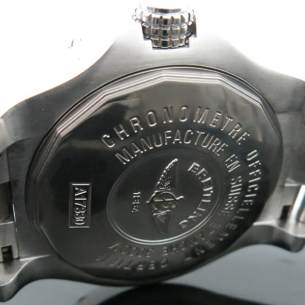 BREITLING(브라이틀링) A17330 Avenger Seawolf 씨울프 그레이 다이얼 데이트 오토매틱 스틸 남성용 시계 [인천점] 이미지5 - 고이비토 중고명품