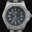 BREITLING(브라이틀링) A17330 Avenger Seawolf 씨울프 그레이 다이얼 데이트 오토매틱 스틸 남성용 시계 [인천점]