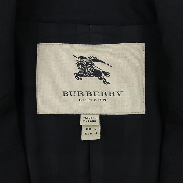 Burberry(버버리) 울혼방 블랙 컬러 여성용 자켓 [잠실점] 이미지4 - 고이비토 중고명품