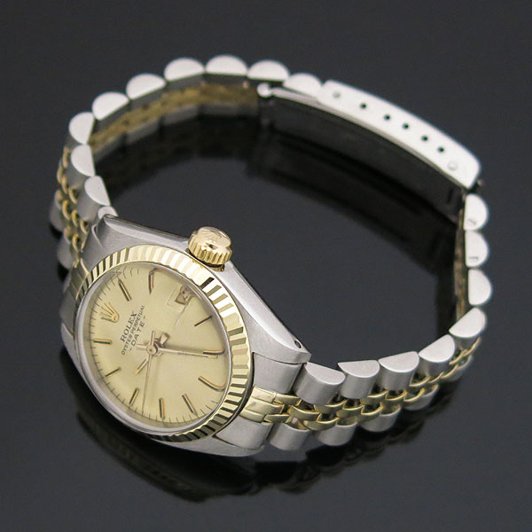 Rolex(로렉스) 빈티지 6917 14K 콤비 여성용 시계 [대구동성로점] 이미지2 - 고이비토 중고명품