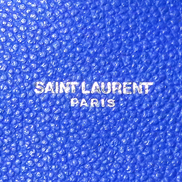 SAINT LAURENT PARIS(생로랑파리) 392035 SAC JOUR 삭 드쥬르 나노 로얄블루 컬러 토트백 + 숄더스트랩 [대전본점] 이미지4 - 고이비토 중고명품