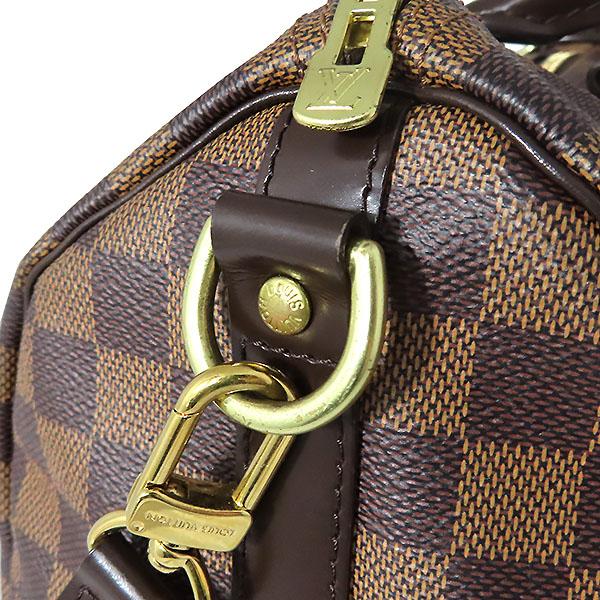 Louis Vuitton(루이비통) N41367 다미에 에벤 캔버스 신형 반둘리에 스피디 30 토트백 + 숄더 스트랩 2WAY [대전본점] 이미지5 - 고이비토 중고명품