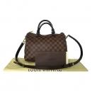 Louis Vuitton(루이비통) N41367 다미에 에벤 캔버스 신형 반둘리에 스피디 30 토트백 + 숄더 스트랩 2WAY [대전본점]