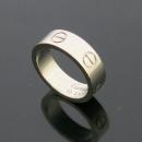 Cartier(까르띠에) B4084748 18K(750) 화이트골드 러브링 반지 - 8호 [동대문점]
