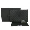 Chanel(샤넬) A69251 블랙 캐비어 은장 로고 L사이즈 클러치백 [동대문점]