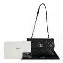 Chanel(샤넬) A92235 블랙 램스킨 트렌디 CC 로고 플랩 체인 숄더백 [동대문점]