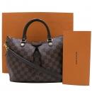 Louis Vuitton(루이비통) N41545 다미에 에벤 캔버스 SIENA(시에나) PM 토트백 + 숄더스트랩 [인천점]