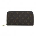 Louis Vuitton(루이비통) M41895 모노그램 캔버스 푸시아 지피 월릿 장지갑 [부산센텀본점]