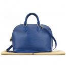 Louis Vuitton(루이비통) M40620 블루 컬러 에삐 레더 알마 PM 토트백 [강남본점]
