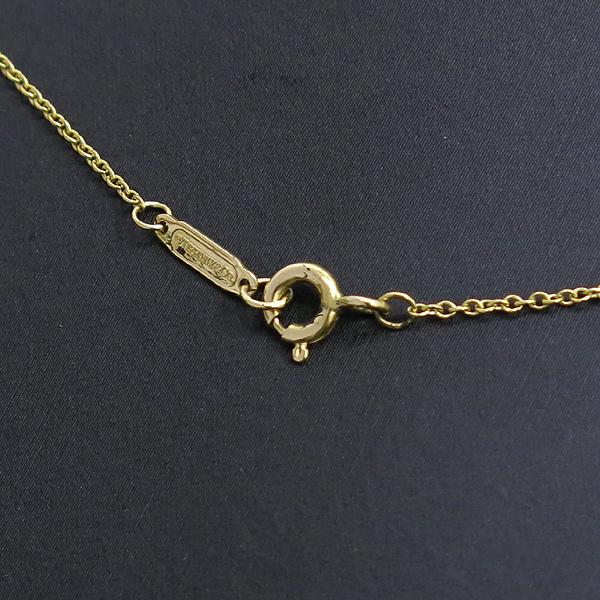 Tiffany(티파니) 18K(750) 옐로우 골드 11포인트 다이아 십자가 목걸이 [강남본점] 이미지4 - 고이비토 중고명품