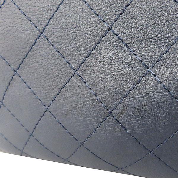 Chanel(샤넬) COCO 메탈릭 로고 네이비 컬러 체인 숄더백 [대구황금점] 이미지6 - 고이비토 중고명품