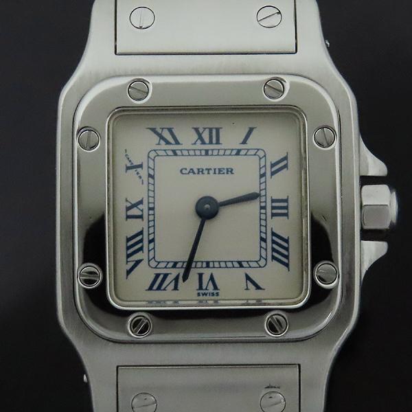 Cartier(까르띠에) 산토스 갈베 S 사이즈 쿼츠 스틸 여성용 시계 [인천점]