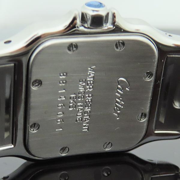 Cartier(까르띠에) 산토스 갈베 S 사이즈 쿼츠 스틸 여성용 시계 [인천점] 이미지5 - 고이비토 중고명품