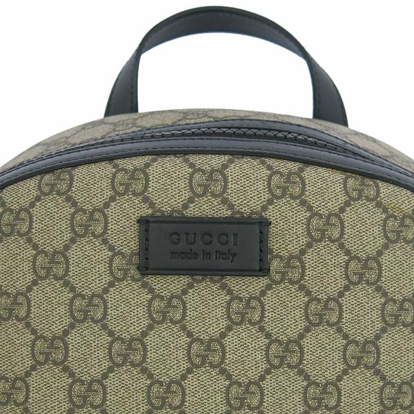 Gucci(구찌) 406370 KLQAX 9772 GG 수프림 캔버스 블랙 트리밍 원포켓 집업 백팩 [동대문점] 이미지3 - 고이비토 중고명품