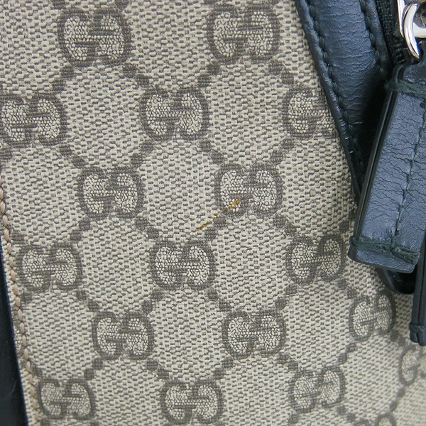 Gucci(구찌) 406370 KLQAX 9772 GG 수프림 캔버스 블랙 트리밍 원포켓 집업 백팩 [동대문점] 이미지4 - 고이비토 중고명품