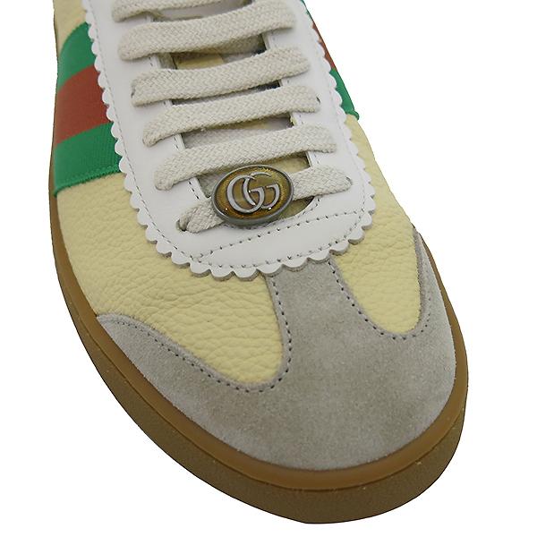 Gucci(구찌) 521681 스웨이드 웹 디테일 스니커즈 [부산센텀본점] 이미지6 - 고이비토 중고명품