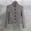 Armani(아르마니) 울 혼방 그레이 골드 컬러 여성용 트위드 자켓 [동대문점]