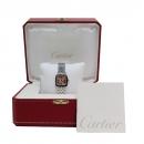 Cartier(까르띠에) W25064Z5 산토스 드모아젤 자개판 스틸밴드 여성용 시계 [인천점]