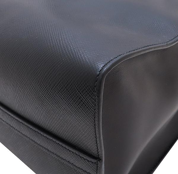 Prada(프라다) 1BA155 SAFFIANO NERO 사피아노 블랙 로고 토트백 + 숄더스트랩 2WAY [인천점] 이미지5 - 고이비토 중고명품