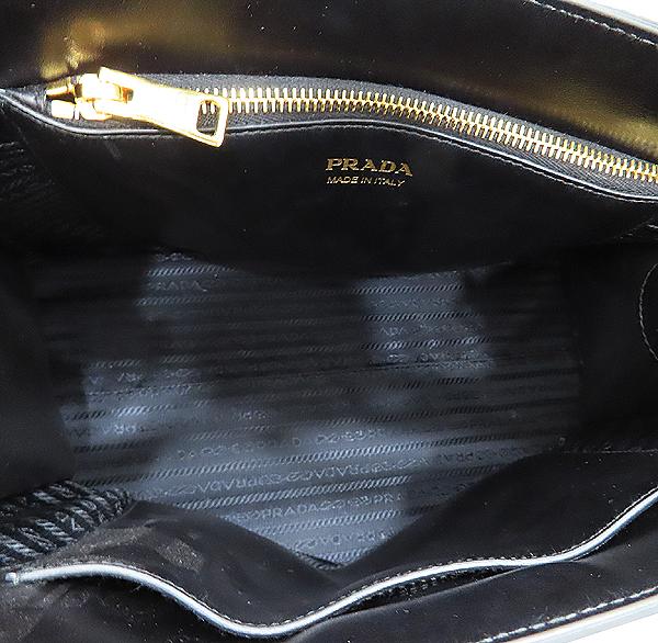 Prada(프라다) 1BA155 SAFFIANO NERO 사피아노 블랙 로고 토트백 + 숄더스트랩 2WAY [인천점] 이미지6 - 고이비토 중고명품