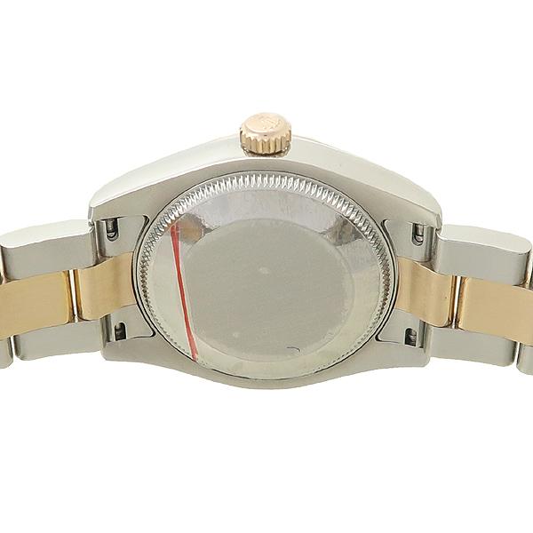 Rolex(로렉스) 178241 DATEJUST(데이저스트) 18K 골드 돔 베젤 실버 다이얼 바 인덱스 콤비 31mm 중형 오이스터 브레이슬릿 여성용 시계 [강남본점] 이미지4 - 고이비토 중고명품