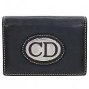 Dior(크리스챤디올) 은장 로고 장식 카드지갑 [강남본점]