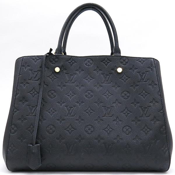 Louis Vuitton(루이비통) M41069 모노그램 앙프렝뜨 Noir 몽테뉴 GM 토트백 [강남본점]