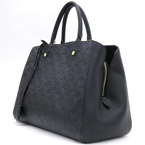 Louis Vuitton(루이비통) M41069 모노그램 앙프렝뜨 Noir 몽테뉴 GM 토트백 [강남본점] 이미지2 - 고이비토 중고명품