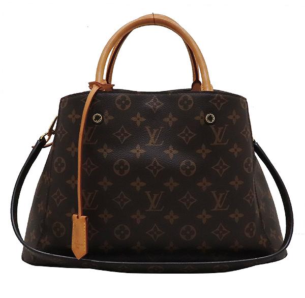 Louis Vuitton(루이비통) M41056 모노그램 캔버스 몽테뉴 MM 토트백 + 숄더스트랩 [인천점] 이미지2 - 고이비토 중고명품