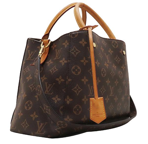 Louis Vuitton(루이비통) M41056 모노그램 캔버스 몽테뉴 MM 토트백 + 숄더스트랩 [인천점] 이미지3 - 고이비토 중고명품