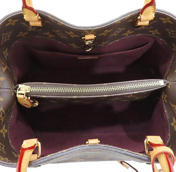 Louis Vuitton(루이비통) M41056 모노그램 캔버스 몽테뉴 MM 토트백 + 숄더스트랩 [인천점] 이미지6 - 고이비토 중고명품