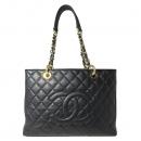 Chanel(샤넬) A50995Y01588 캐비어스킨 블랙 그랜드샤핑 금장 로고 체인 숄더백 [대전본점]