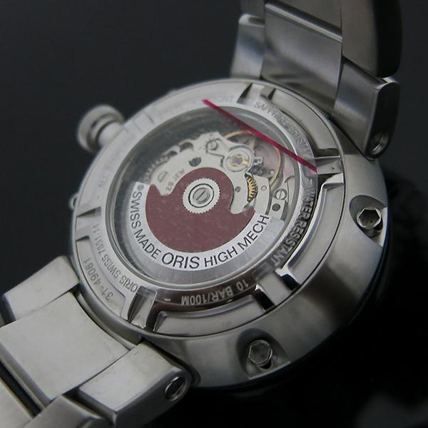 ORIS(오리스) 01 735 7651 4174 TT1 데이 데이트 오토매틱 스틸밴드 남성용 시계 [부산센텀본점] 이미지7 - 고이비토 중고명품